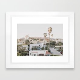Hollywood California Framed Art Print