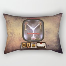 Time machines flux capacitor iPhone 4 5 6 7 8 x, tshirt, mugs and pillow case Rectangular Pillow