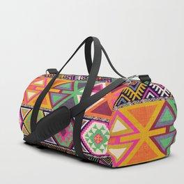 Aztec Artisan Tribal Bright Duffle Bag