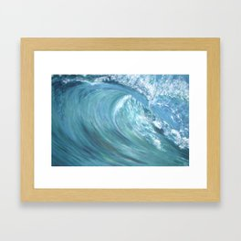 Wave Of Love Framed Art Print