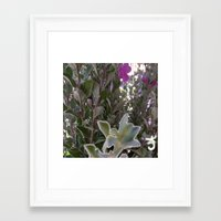 plant Framed Art Prints featuring Plant by ANoelleJay