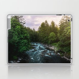 PNW River Run II - Pacific Northwest Nature Photography Laptop & iPad Skin