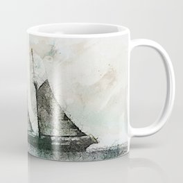 Schooner - vintage art Coffee Mug