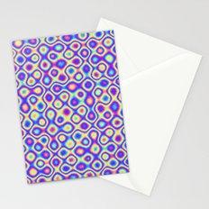 Pattern 60's like Stationery Cards