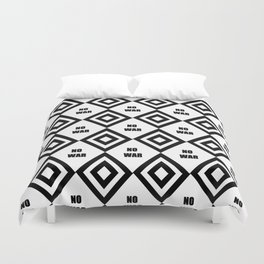 no war - rebel, wild,prohibition,peace,pacifism,weapon, military.militar. Duvet Cover