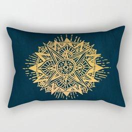 Bright lotus Rectangular Pillow