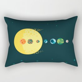 Trappist System Rectangular Pillow