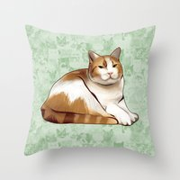 tigger Throw Pillows featuring Tigger by EggsBFF