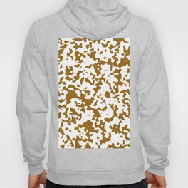 Spots - White and Golden Brown Hoody