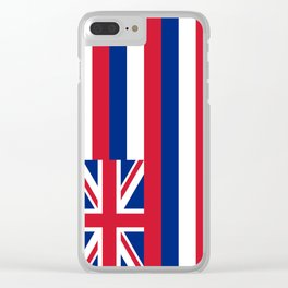 State flag of Hawaii Clear iPhone Case