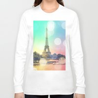 paris Long Sleeve T-shirts featuring Paris. by WhimsyRomance&Fun