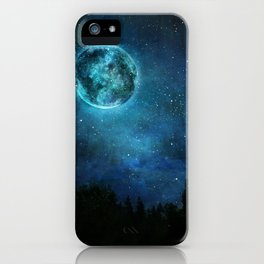 Planetary Soul Haven Night iPhone Case