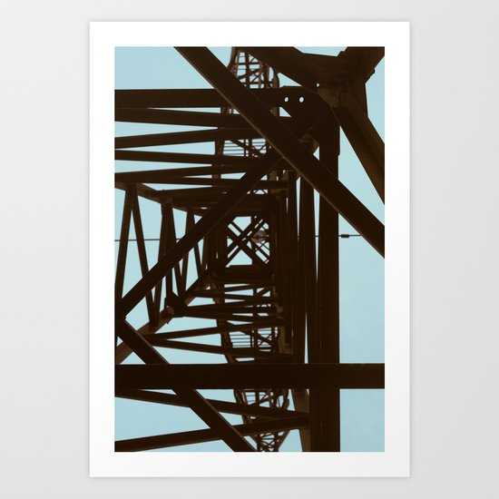 Intersection Art Print