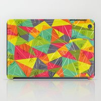 frame iPad Cases featuring geo frame by Buster Fidez