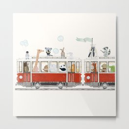 a little city adventure Metal Print