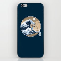 The Great Wave of Republic City iPhone & iPod Skin