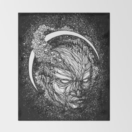 Brain Smoke Throw Blanket