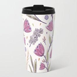 Flower Pattern 1 Travel Mug