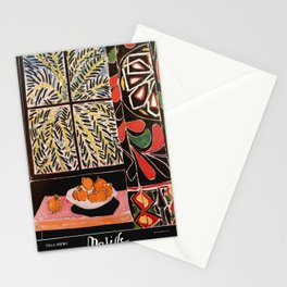 Matisse Exhibition poster 1979 Stationery Cards