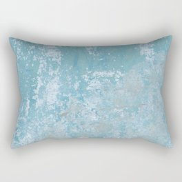 Vintage Galvanized Metal Rectangular Pillow