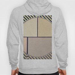 Toned Down- navy stripe Hoody