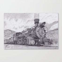 Durango and Silverton Steam Engine Canvas Print
