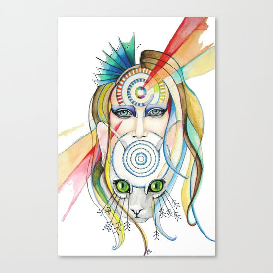 Vision and Silence Canvas Print