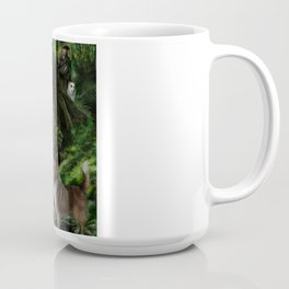 Sleeping Fairy on Unicorn Coffee Mug