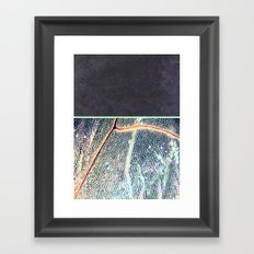 concrete.dragOnfly Framed Art Print
