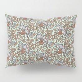 Yarnball Kitty Cat Pillow Sham