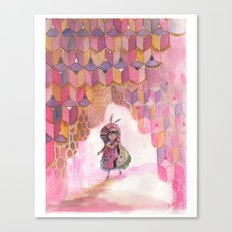 Honeycomb Wanderer Canvas Print