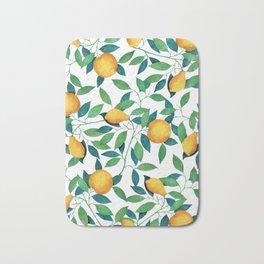 Lemon pattern II Bath Mat