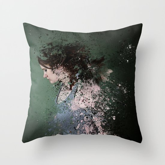 Terminate Throw Pillow