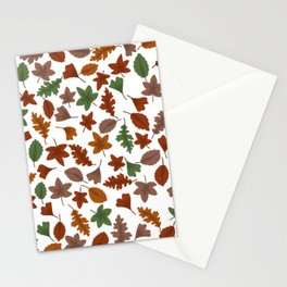 Autumn leaves #6 Stationery Cards