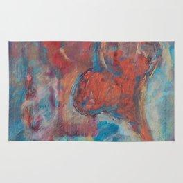 Copper Heart Rug