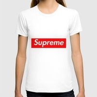 supreme T-shirts featuring Supreme by Harry Martin