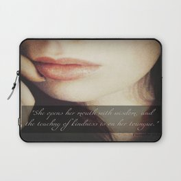 Teaching of Kindness Laptop Sleeve