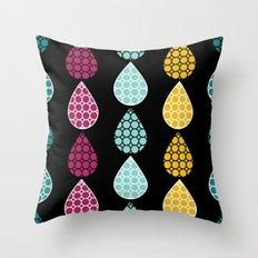Rain Drops #2 Throw Pillow