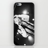 panic at the disco iPhone & iPod Skins featuring Panic At The Disco - Brendon Urie by Lights & Sounds Photography