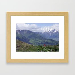 Tough of nature Framed Art Print