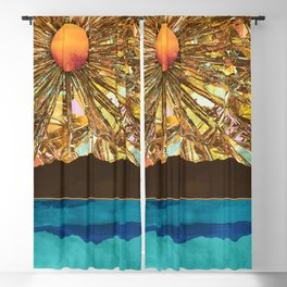 Fractured Sky Blackout Curtain