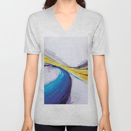 Abstract Art Britto - QB296 Unisex V-Neck