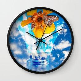 Flowering Bulb Wall Clock