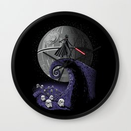 The Nightmare Before Empire Wall Clock