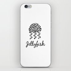 Jellyfish B&W iPhone & iPod Skin