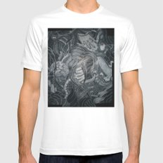 When Adam Lost Eve Mens Fitted Tee MEDIUM White