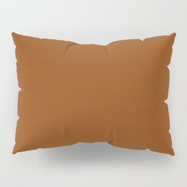 Rust - Solid Color Collection Pillow Sham