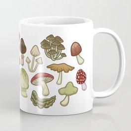 Mushroom Circle Coffee Mug