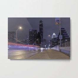 Austin, Texas bridge Metal Print