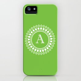 The Circle of A iPhone Case